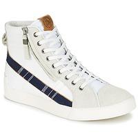Schoenen Heren Hoge sneakers Diesel D-STRING PLUS Wit / Blauw
