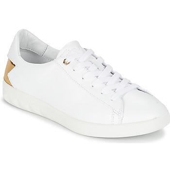 Schoenen Dames Lage sneakers Diesel S-OLSTICE LOW W Wit / Goud
