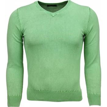 Textiel Heren Truien Bruno Leoni Casual Trui - Exclusive Blanco V-Hals 25