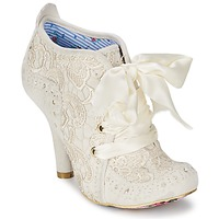 Schoenen Dames Enkellaarzen Irregular Choice ABIGAILS THIRD PARTY Wit / Creme