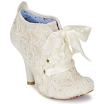 Schoenen Dames Low boots Irregular Choice ABIGAILS THIRD PARTY Wit / Creme
