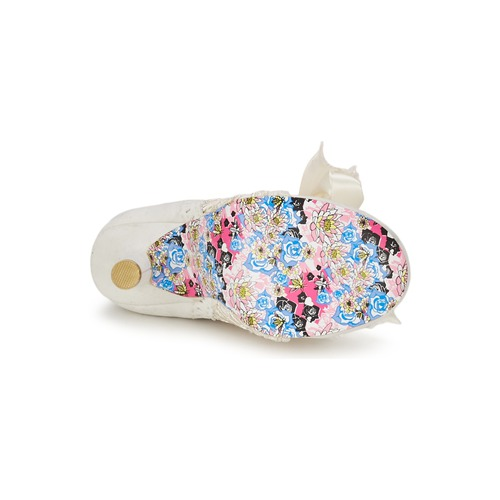 Irregular Choice Abigails Third Party Wit / Creme - Gratis Levering