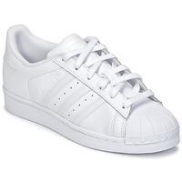 Schoenen Kinderen Lage sneakers adidas Originals SUPERSTAR Wit