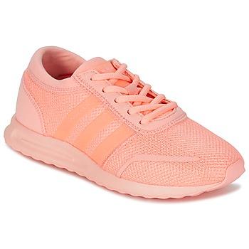 Schoenen Meisjes Lage sneakers adidas Originals LOS ANGELES J Koraal