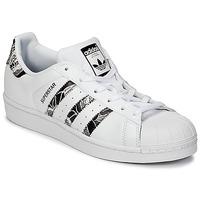 Schoenen Dames Lage sneakers adidas Originals SUPERSTAR W Wit