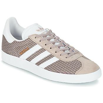 Schoenen Dames Lage sneakers adidas Originals GAZELLE W Grijs