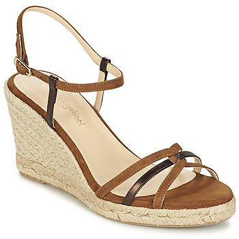 Schoenen Dames Sandalen / Open schoenen Mellow Yellow BERLINA Bruin