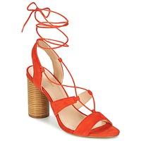 Schoenen Dames Sandalen / Open schoenen Mellow Yellow BRUNE Oranje
