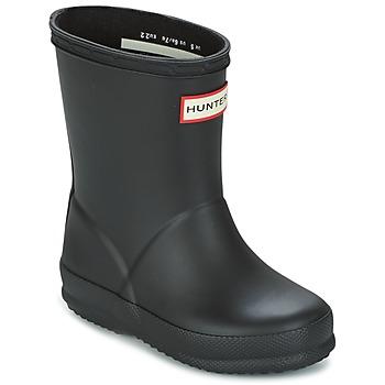 Schoenen Kinderen Regenlaarzen Hunter KIDS FIRST CLASSIC Zwart