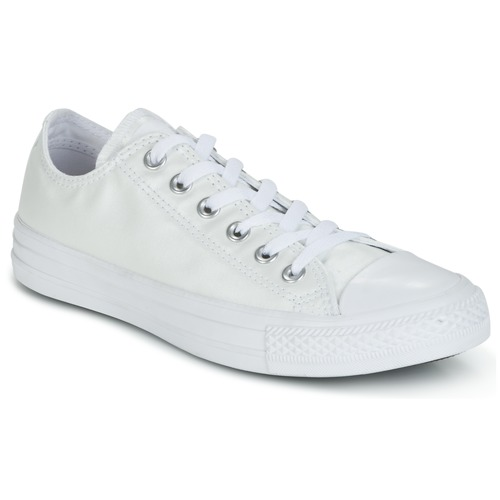 Schoenen Dames Lage sneakers Converse CHUCK TAYLOR ALL STAR SEASONAL METALLICS OX Wit / Metaal