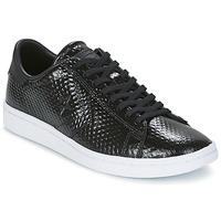 Schoenen Dames Lage sneakers Converse CONS SNAKE SKIN OX Zwart / Wit