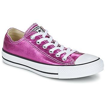 Schoenen Dames Lage sneakers Converse CHUCK TAYLOR ALL STAR SEASONAL METALLICS OX Roze / Metaal