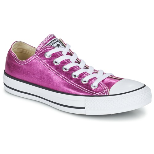 Schoenen Dames Lage sneakers Converse CHUCK TAYLOR ALL STAR SEASONAL METALLICS OX Roze / Metaal