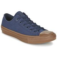 Schoenen Heren Lage sneakers Converse CHUCK TAYLOR ALL STAR II TENCEL CANVAS OX Marine / Bruin