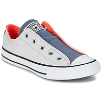 Schoenen Kinderen Lage sneakers Converse CHUCK TAYLOR ALL STAR SLIP SUMMER FUNDAMENTALS SLIP Grijs / Blauw / Oranje