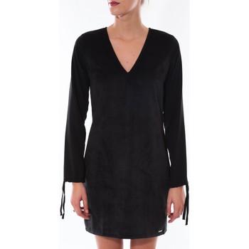 Textiel Dames Korte jurken Coquelicot Robe  Col V Noir 16211 Zwart