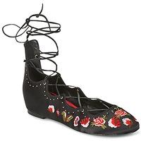 Schoenen Dames Ballerina's Ash INDRA Zwart