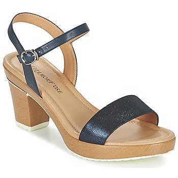 Schoenen Dames Sandalen / Open schoenen Metamorf'Ose ZACQUESTE Blauw / Bruin