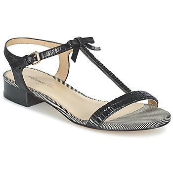 Schoenen Dames Sandalen / Open schoenen Metamorf'Ose ZAFOIN Zwart