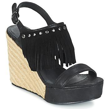 Schoenen Dames Sandalen / Open schoenen Les Petites Bombes SABINE Zwart