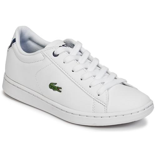 Schoenen Kinderen Lage sneakers Lacoste CARNABY EVO BL 1 Wit