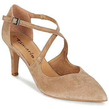 Schoenen Dames Sandalen / Open schoenen Tamaris DROL Naturel