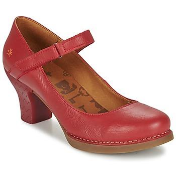 Schoenen Dames pumps Art HARLEM Karmijnrood