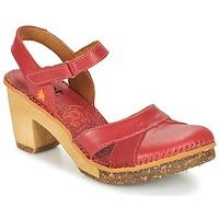 Schoenen Dames Sandalen / Open schoenen Art AMSTERDAM Karmijnrood