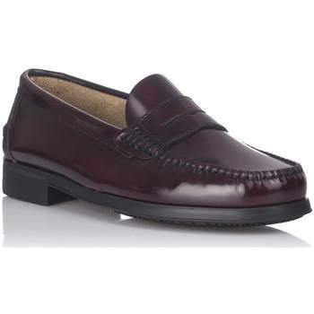 Schoenen Heren Mocassins Castellanos Artesanos 350 Rood