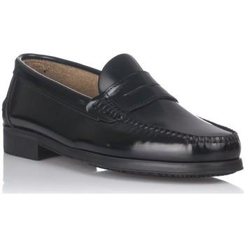 Schoenen Heren Mocassins Castellanos Artesanos 350 Zwart