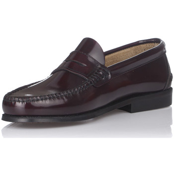 Schoenen Heren Mocassins Castellanos Artesanos 600 Rood