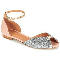 Schoenen Dames Sandalen / Open schoenen Emma Go JULIETTE Roze / Zilver / Goud