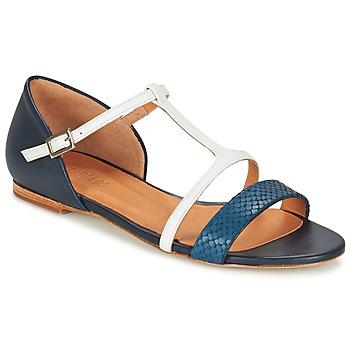 Schoenen Dames Sandalen / Open schoenen Emma Go KEIRA Marine / Wit