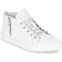 Schoenen Dames Hoge sneakers Blackstone NL35 Wit