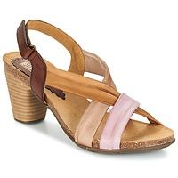 Schoenen Dames Sandalen / Open schoenen Bunker LIZ Bruin / Roze