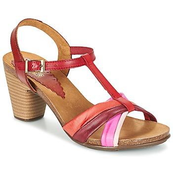 Schoenen Dames Sandalen / Open schoenen Bunker LIZ Rood / Roze