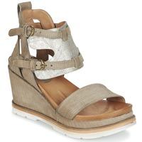 Schoenen Dames Sandalen / Open schoenen Mjus APRIL Taupe / Zilver