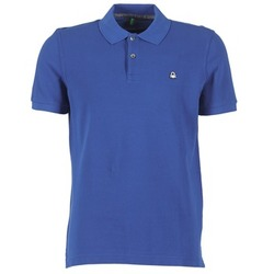 Textiel Heren Polo's korte mouwen Benetton FOBIKA Blauw