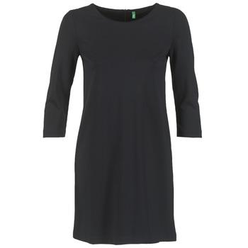 Textiel Dames Korte jurken Benetton SAVONI Zwart