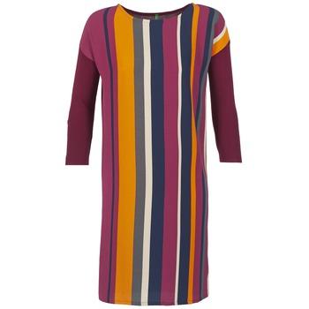 Textiel Dames Korte jurken Benetton VAGODA Bordeau / Multi