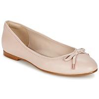 Schoenen Dames Ballerina's Clarks GRACE LILY Roze