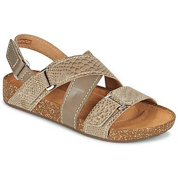 Schoenen Dames Sandalen / Open schoenen Clarks ROSILLA ESSEX Bruin