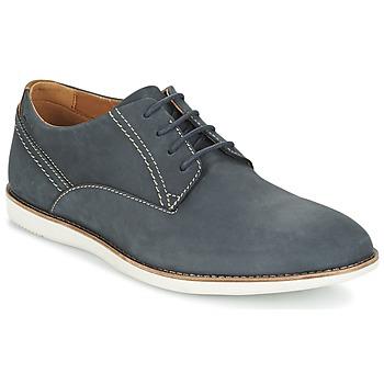 Schoenen Heren Derby Clarks FRANSON PLAIN Blauw
