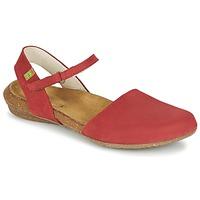 Schoenen Dames Sandalen / Open schoenen El Naturalista WAKATAUA Rood