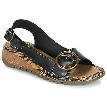 Schoenen Dames Sandalen / Open schoenen Fly London TRAMFLY Zwart