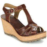 Schoenen Dames Sandalen / Open schoenen Fly London GOLDY Bruin