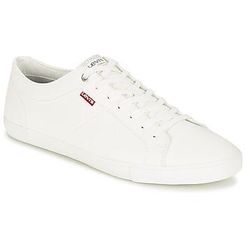 Schoenen Heren Lage sneakers Levi's WOODS Wit