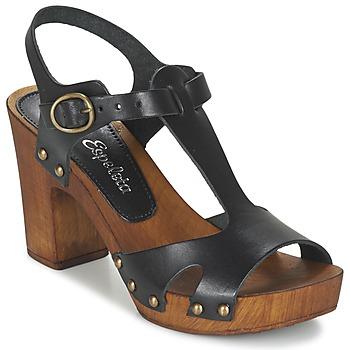 Schoenen Dames Sandalen / Open schoenen Lola Espeleta NICIA Zwart