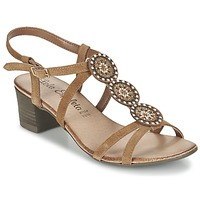 Schoenen Dames Sandalen / Open schoenen Lola Espeleta GENIAL Cognac