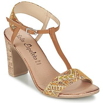 Schoenen Dames Sandalen / Open schoenen Lola Espeleta GIULIA Cognac